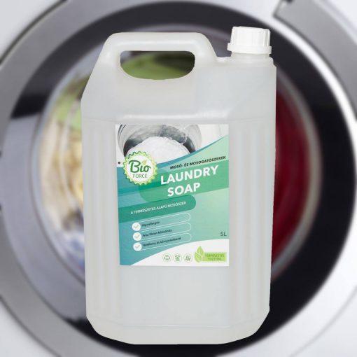 Bioforce Laundry Soap hipoallergén folyékony mosószer automata mosógépekhez és kézi mosáshoz 1-, 3-, 5 literes kiszerelésben is kapható