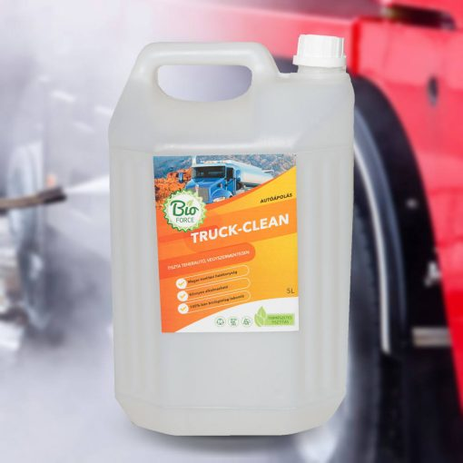 BIOFORCE TRUCK-CLEAN, teherautó sampon