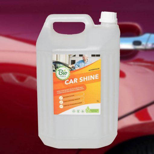 BIOFORCE CAR SHINE, felületvédő wax