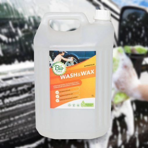 BIOFORCE WASH&WAX, autósampon