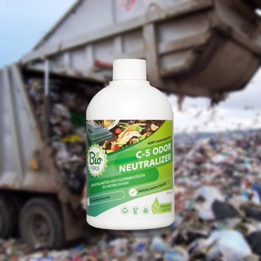 BIOFORCE C-5 Odor Neutralizer kukák, szeméttárolók, egyéb rothadó hulladék szagtalanítására