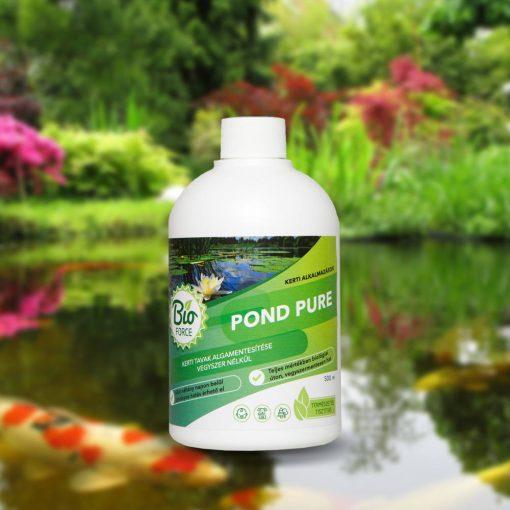 Bioforce POND PURE, kerti tavak vegyszermentes algamentesítése 3000ml