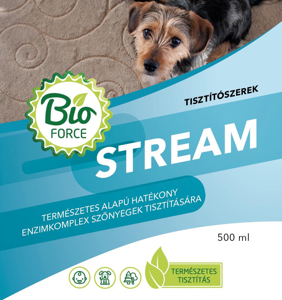 Bioforce Stream hatékony segítség szőnyegtisztításhoz